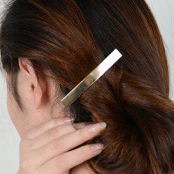 Simple Style Solid Color Glaze Hairgrip For Women -