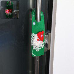 LED Flashing Snowman Doorknob Drop for Christmas Decoration - GREEN