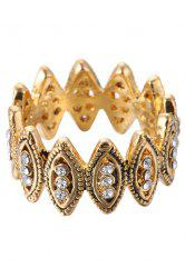 Chic Rhinestone Hollow Out Ring For Women -