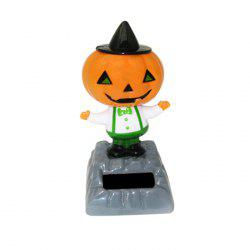 Solar Energy Shaking Pumpkin Man House Decoration Christmas Gift - COLORMIX