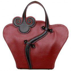 Color Block Handbag -