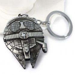 Portable Vess Millennium Falcon A Style Metal Key Ring