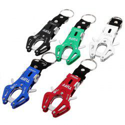 Multi-use Portable High-strength Tiger Buckle Aluminum Alloy Made for Mountaineering Hiking