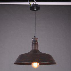 Retro Pot Cover Shaped E27 Pendant Lamp Holder