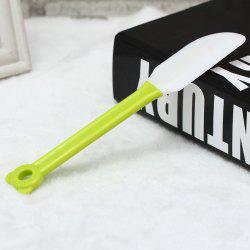 2 in 1 Simple Silicone Cake Shovel Scraping Knife for Daily Use - GREEN
