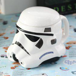 Stomtrooper Style Helmet Cup with Cover for Daily Use -