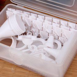 100PCS Practical Decorative Mold Set for Cake / Cookies DIY