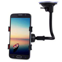 Universal 360 Degrees Rotation Long Arm Car Windshield Holder Mount Bracket Stand for Cell Phones -