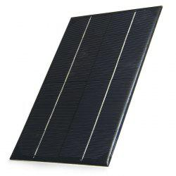 4.2W 6V Monocrystalline Silicon Solar Cell for Making Experiments - BLACK