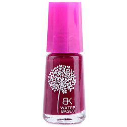 7ml Peelable Water-Based Candy Color Smooth Nail Art Polish