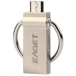 Eaget 2 en 1 16 / 32 / 64 GB OTG USB 3.0 résistant à l'eau antichoc s Flash Drive 5GB / Fonctionne avec Smartphone / Tablette -