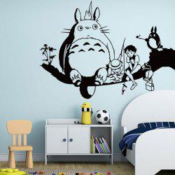Cartoon Removeable Decorative Wall Sticker -