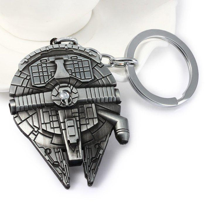 Latest Portable Vess Millennium Falcon A Style Metal Key Ring