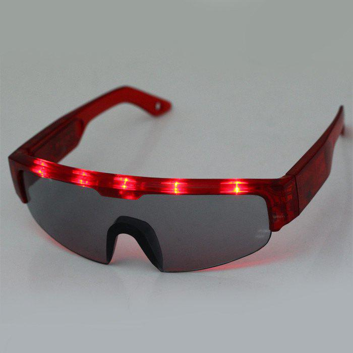 5 Light Cool DJ Style Flashing LED Fashionable Glasses 157667501