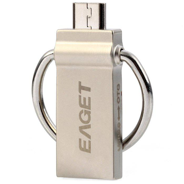 Eaget 2 en 1 16 / 32 / 64 GB OTG USB 3.0 résistant à l'eau antichoc s Flash Drive 5GB / Fonctionne avec Smartphone / Tablette