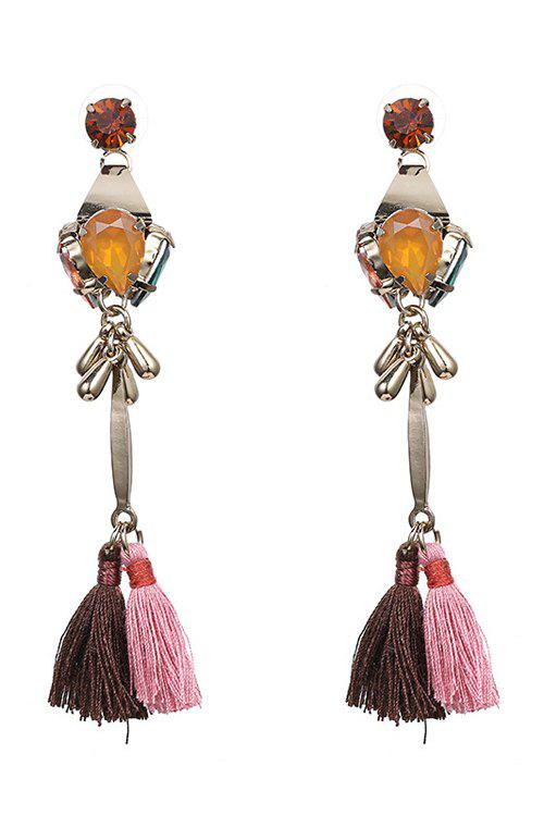 Outfit Pair of Tassel Pendant Jewelry Earrings
