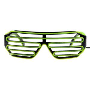 3-Mode Sound Control Cool LED Glasses with Controller Christmas Party Concert Ornaments -