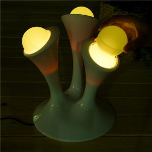 Glowing Ball Color Changing LED Nightlight with Removable Bulbs Home Sleeping Lamp -