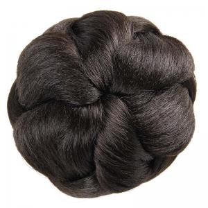 Charming Clip In Heat Resistant Synthetic Elegant Short Hair Bun -