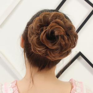 Attractive Fluffy Curly Vogue Heat Resistant Fiber Hair Bun