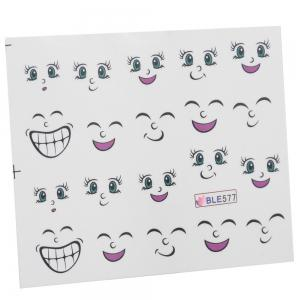 Cute Manicure Decal Accessory Cartoon Nail Sticker for Children -