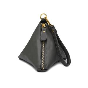 Stylish Triangle Shape and Tassel Design Women's Clutch Bag -