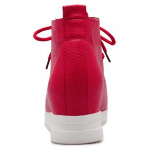 Trendy Solid Colour and Stitching Design Women's Athletic Shoes -
