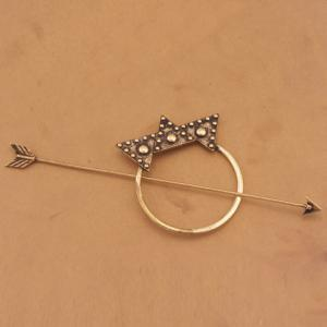 Vintage Arrow Shape Triangle Hairpin For Women