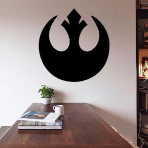 w-1 Rebel Alliance Style Removable Wall Sticker Water Resistant Home Art Decals -