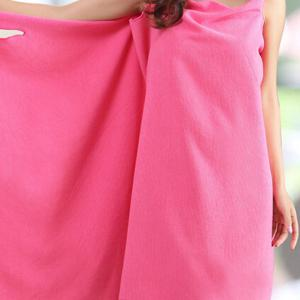 Chic Microfiber Sexy Beach Braces Skirt Soft Bath Skirt -