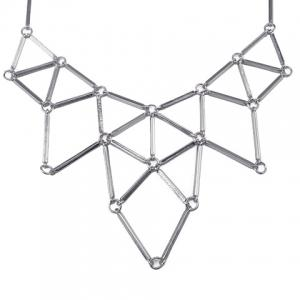 Triangle Hollow Out Necklace -