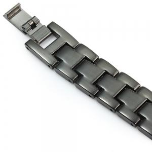 Stainless Steel Strap Anti-lost Design Wristband -