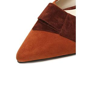 Sweet Pointed Toe and Ankle Strap Design Women's Flat Shoes -