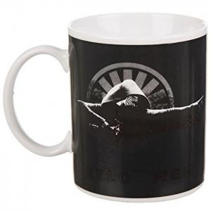 Kylo Ren Thermal Discoloration Mug Creative Temperature Change Ceramic Cups - BLACK
