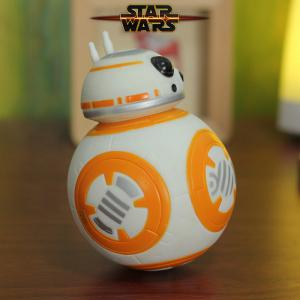 BB-8 Droid Robot Tumbler Model Light Music Player Roly-poly Toys -