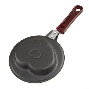 Multifunctional Sweet Heart Shape Kitchenware Frying Pan -