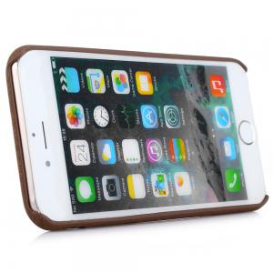 ASLING Wood Style Protective Back Case for iPhone 6 / 6S Anti-scratch TPU Material Ultra-thin -