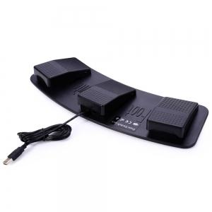 FS3-P Computer USB Triple Foot Switch Controller PC Games Pedal -