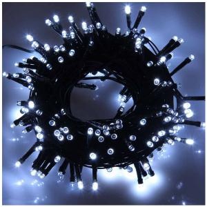 Solar Powered 17M 100 LED String Light Low Voltage Water Resistance for Christmas Holiday Wedding Party - White - No.05