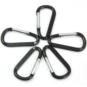 D Shaped Oblate Carabiner Hanging Buckle -
