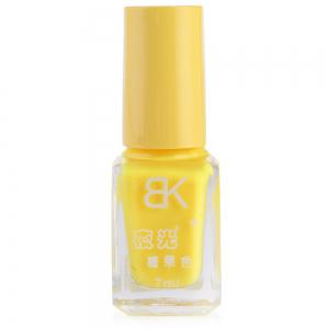 7ml bNoctilucent Fluorescent Lacquer Neon Glow In Dark Nail Polish - YELLOW 02