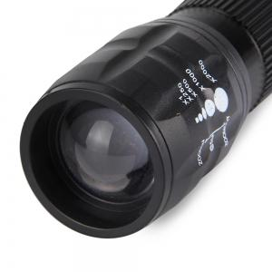 Q5 Bicycle Light 3W 140 Lumens 3 Modes LED Lamp Front Torch with Torch Holder -