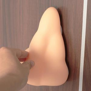 New Fun Nose Shaped Bathroom Shower Gel Bath Wall Soap Dispenser with Suction Hooks Bathroom Products -