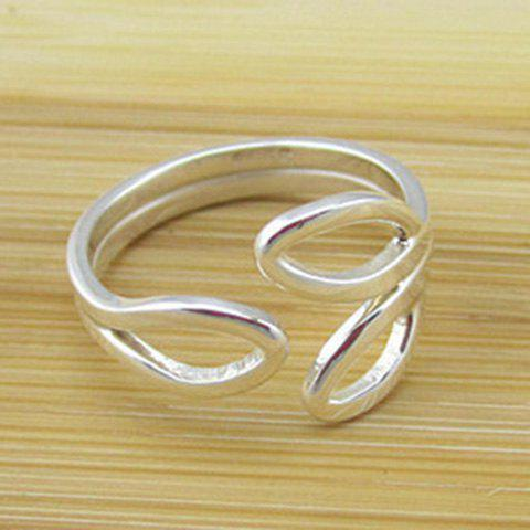 Shops Hollow Out Leaf Cuff Ring