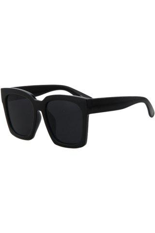 Outfits Chic Black Quadrate Sunglasses For Women