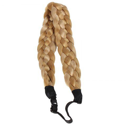 Cheap Charming Braided Hair Heat Resistant Synthetic Extensions For Women