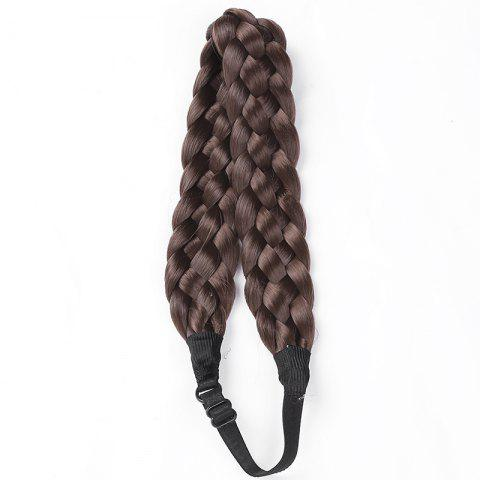 Outfits Charming High Temperature Fiber Long Braided Hair Extensions For Women
