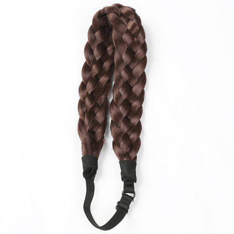 Unique Charming High Temperature Fiber Long Braided Hair Extensions For Women - #06  Mobile