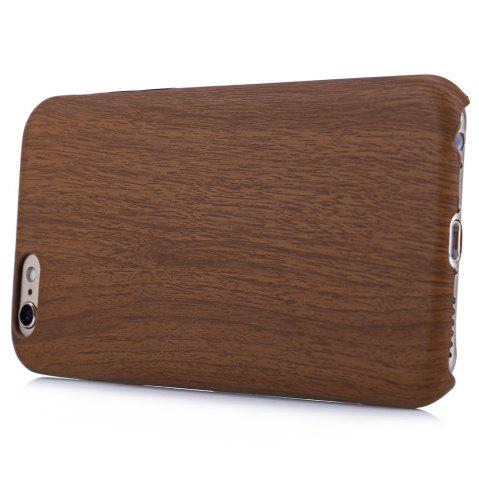 Chic ASLING Wood Style Protective Back Case for iPhone 6 / 6S Anti-scratch TPU Material Ultra-thin -   Mobile
