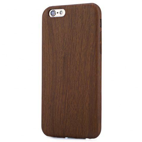 Shops ASLING Wood Style Protective Back Case for iPhone 6 / 6S Anti-scratch TPU Material Ultra-thin -   Mobile